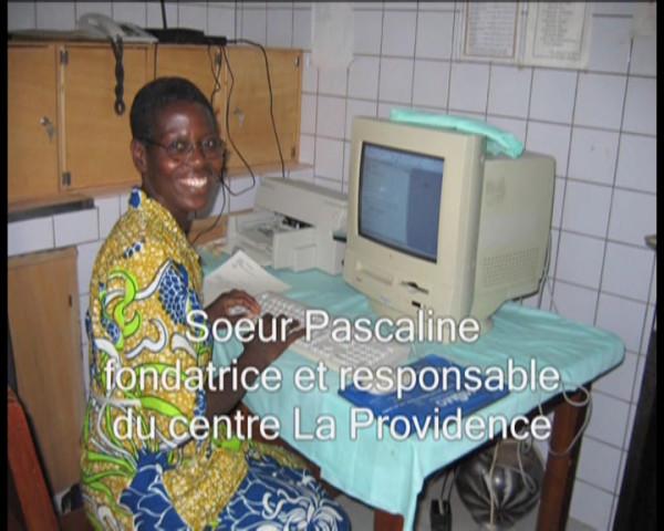 Soeur Pascaline, fondatrice et responsable du centre La Providence