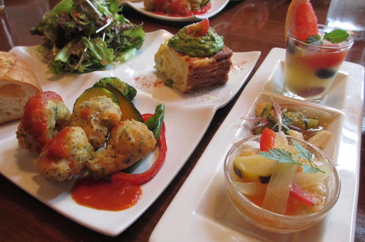vegevegeお野菜たっぷりランチ♪からだの内側からもキレイ!