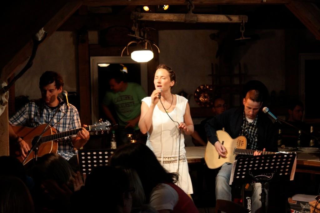 """Trio Konzert im """"FireAbend in a Pub"""""""