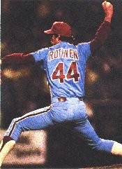 Dick Ruthven went the distance to win his 13th game.