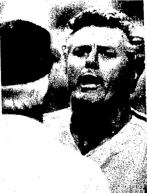 Dallas Green argues with umpire Doug Harvey after Garry Maddox' hit back to the pitcher was ruled a double play.