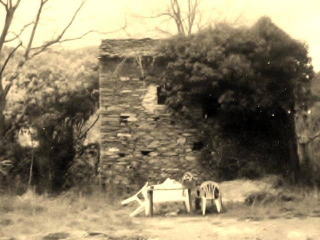 Castellu di Mimosa, das Häuschen, in dem die Protagonistin, Alicia, mit ihren Tieren auf der anderen Seite des Flusses Fiumalto, in der wilden Natur im Herzen der Castagniccia lebte...
