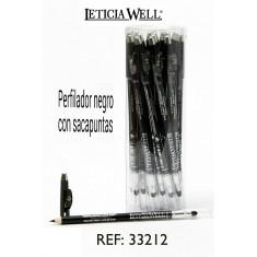 Crayon noir avec taille crayon