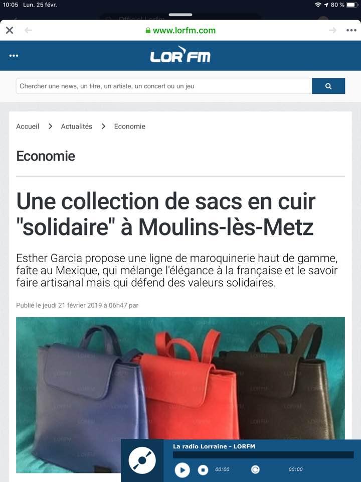 Des sacs éthiques et solidaires