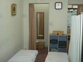 芦屋整体院の更衣室