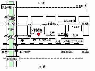 整体院までの地図(20)