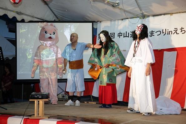 公演の様子(滋賀県愛荘町③)