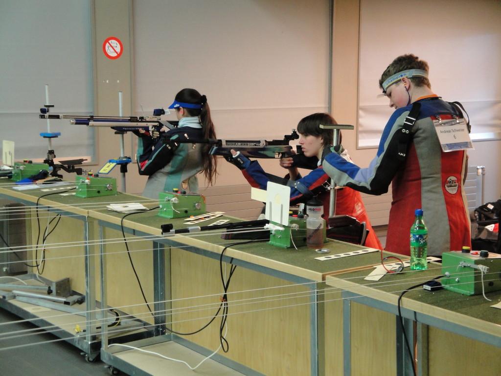 Daniela Keller, Manuela Brander und Andreas Schweizer