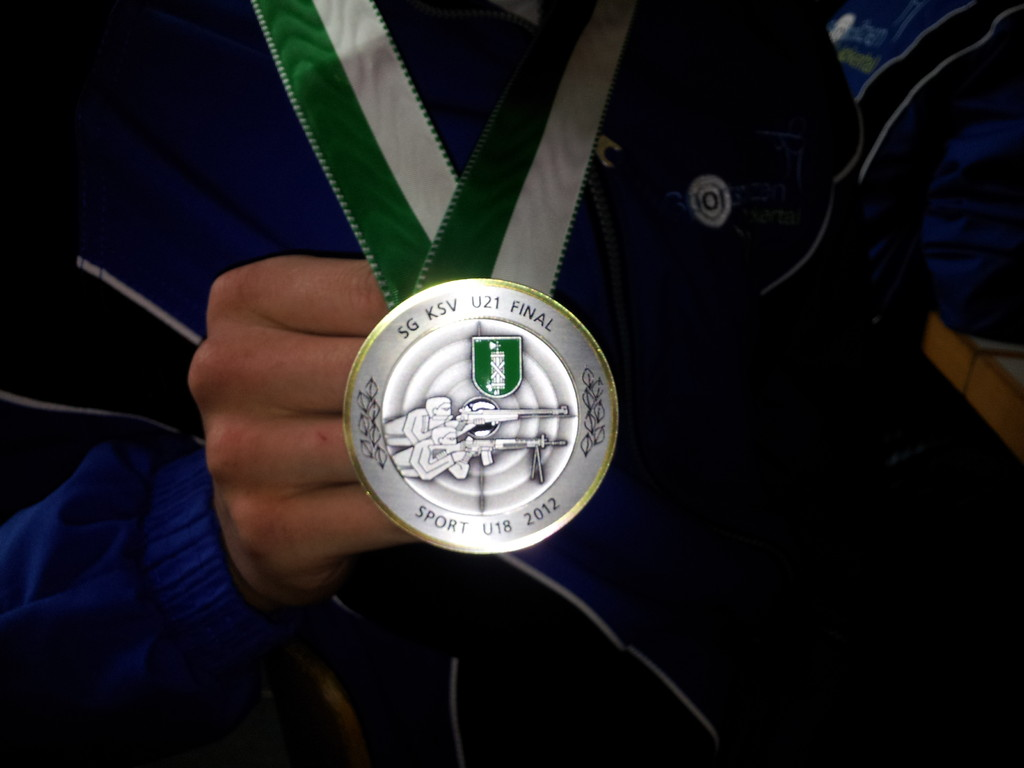 Silbermedaille Michael Schweizer