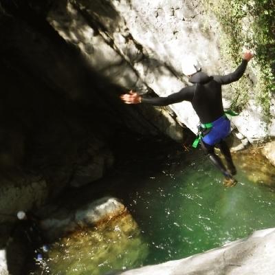 canyoning briançon serre chevalier hautes alpes canyon italie
