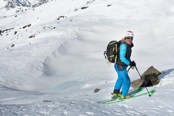 sortie ski de rando à serre chevalier