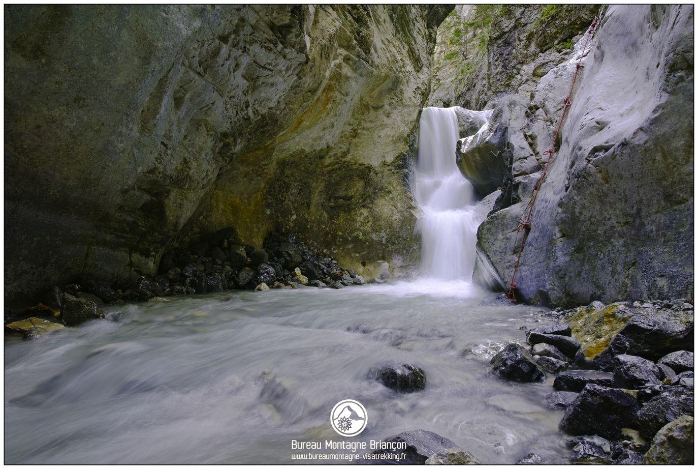 Canyon des Acles, Vallée de la Clarée