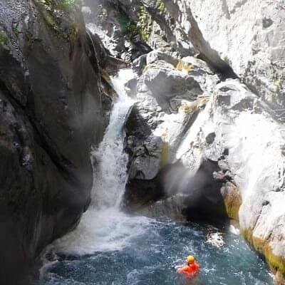 canyoning hautes alpes briançon serre chevalier expert difficile