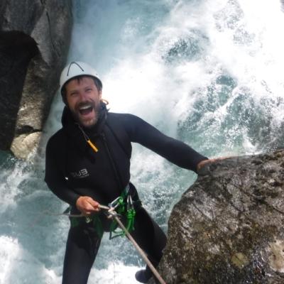 aventure canyoning hautes alpes