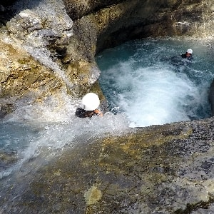 canyon fournel (serre chevalier , briançon )