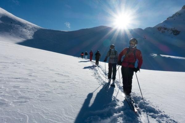 ski de randonnée à Briançon