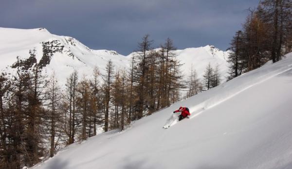 alpes du sud ski de randonnée