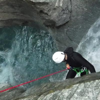 canyon des oules valgaudemar