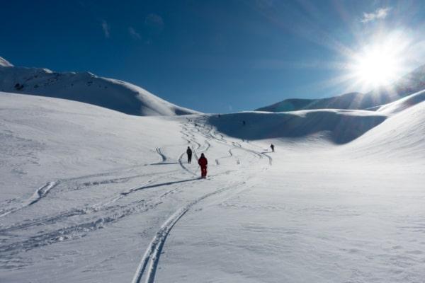 ski de randonnée initiation hautes alpes
