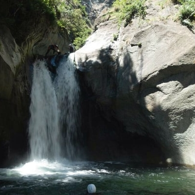 canyoning caprie descente