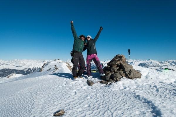 randonnée sortie ski