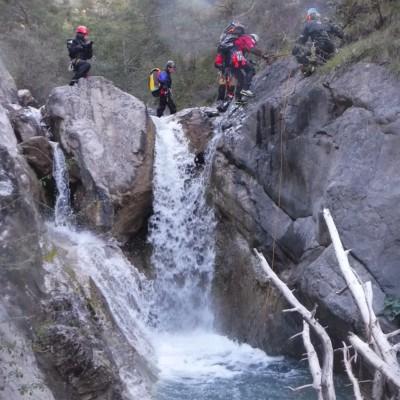 canyoning durance