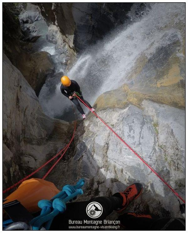 Un canyon incroyable à Névache