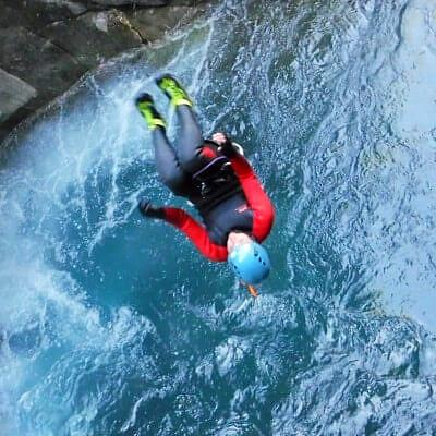 parcours de canyoning dans les hautes alpes