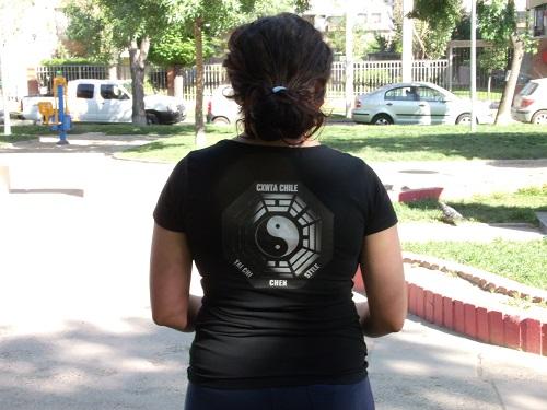 Polera Mujer Manga Corta para Práctica de TaiChi en WCTA Chile (ex CXWTA Chile)