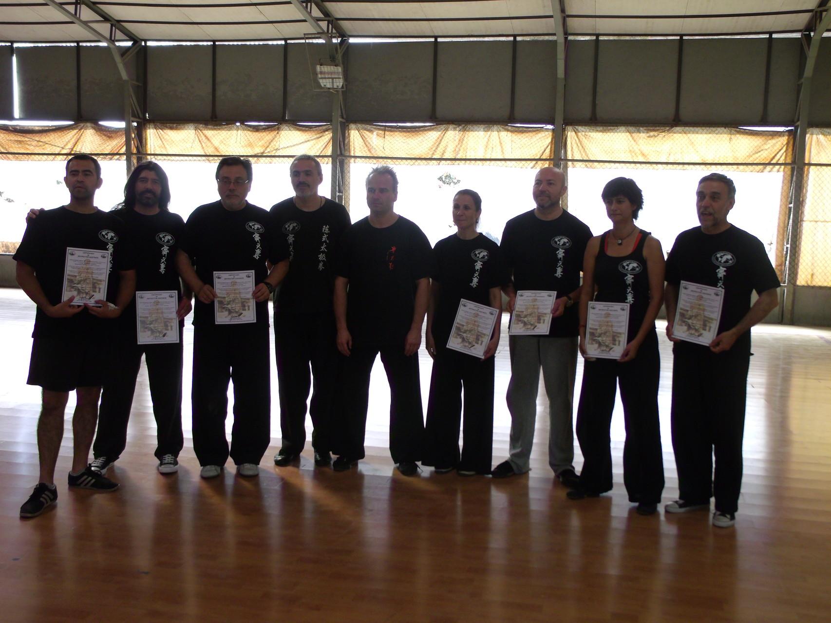 Certificación Instructores Nivel 1 con Master Jan Silberstorff
