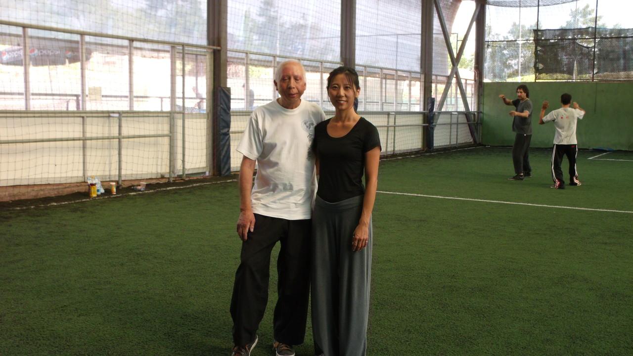 Mónica Han y Carlos Mejias Alumno Sede San Miguel Cxwta-Chile