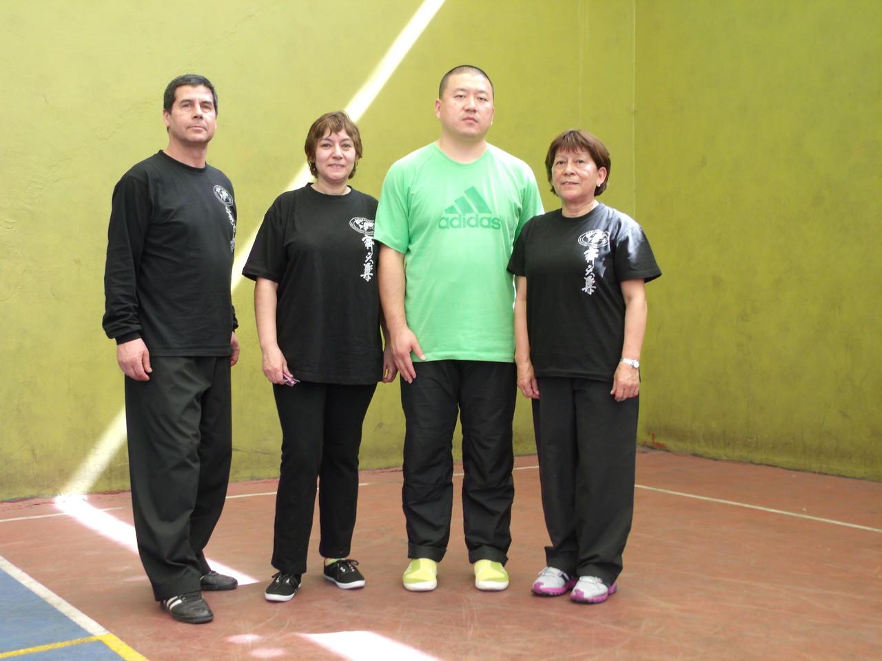Algunos Alumnos Sede Cxwta-Chile Sede San Miguel