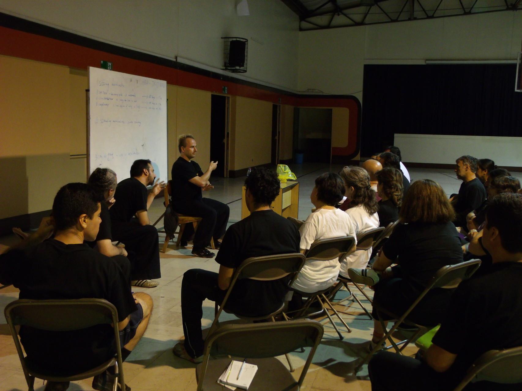 Teoría de  Meditación en Taijiquan estilo Chen