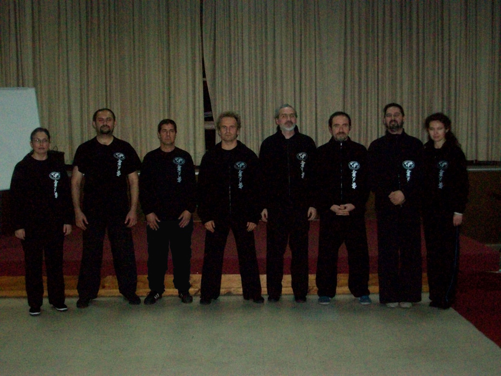 Maestro Jan Silberstorff e Instructores
