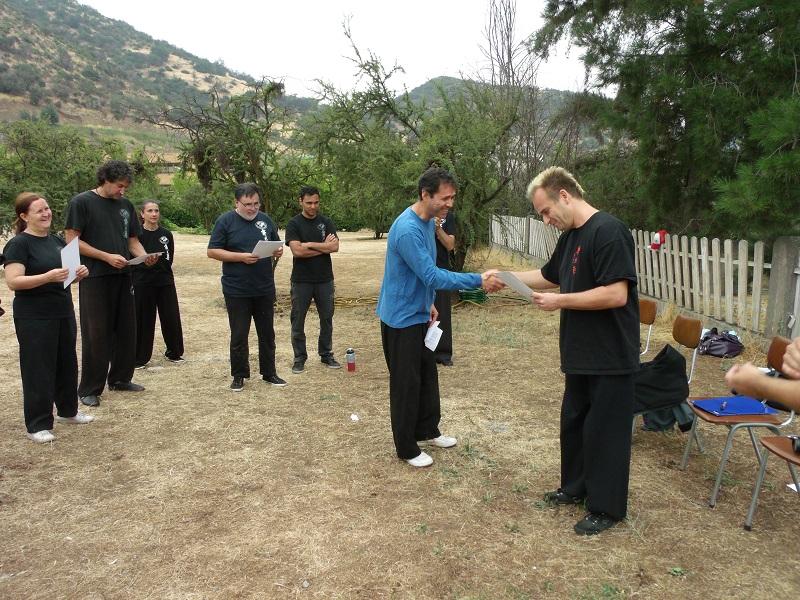 Isaias Morales,  Instructor Titular Certificación 2016