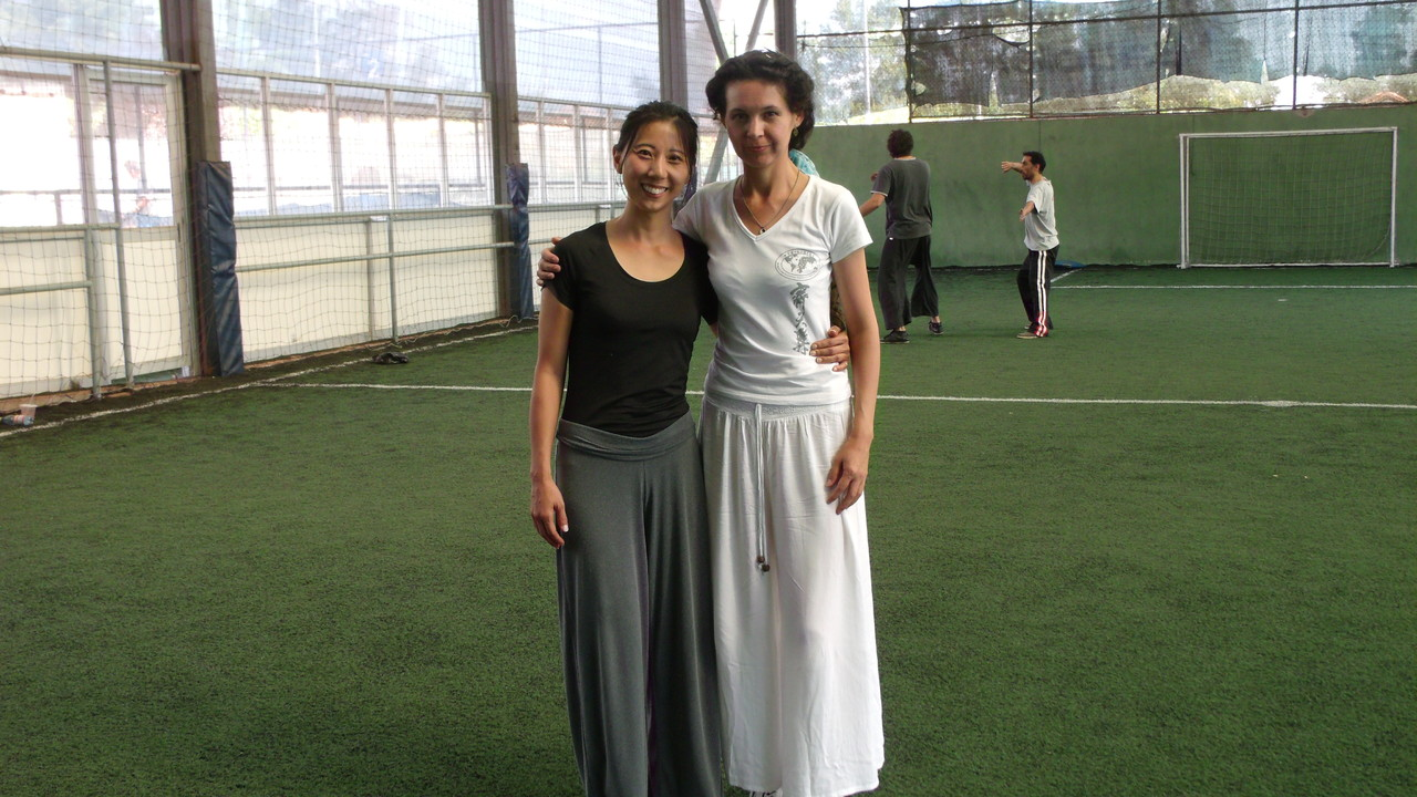 Mónica Han y Celeste, Instructora Cxwta-Chile