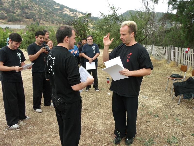 Carlos García, Instructor Asistente Cxwta-Chile 2016