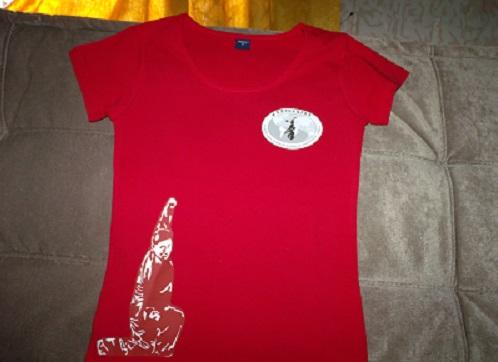 Polera Mujer en algodón elasticado para práctica de TaiChi en WCTA Chile (ex CXWTA Chile)