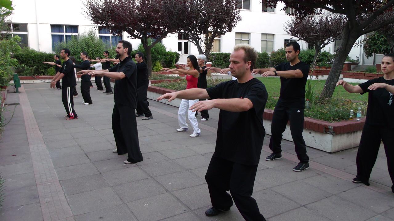 """Movimiento el """"Guardián de Buda sale del Templo"""""""