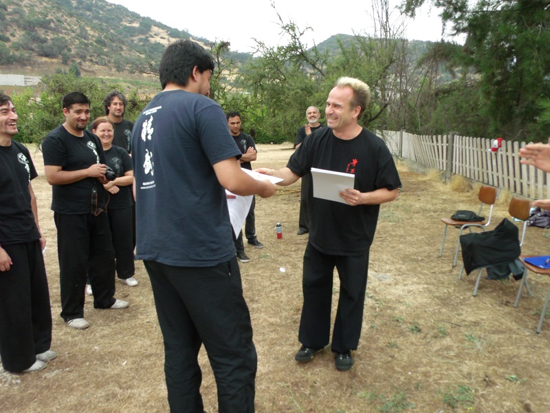 Felipe Llanos, Instructor Asistente Cxwta-Chile 2016