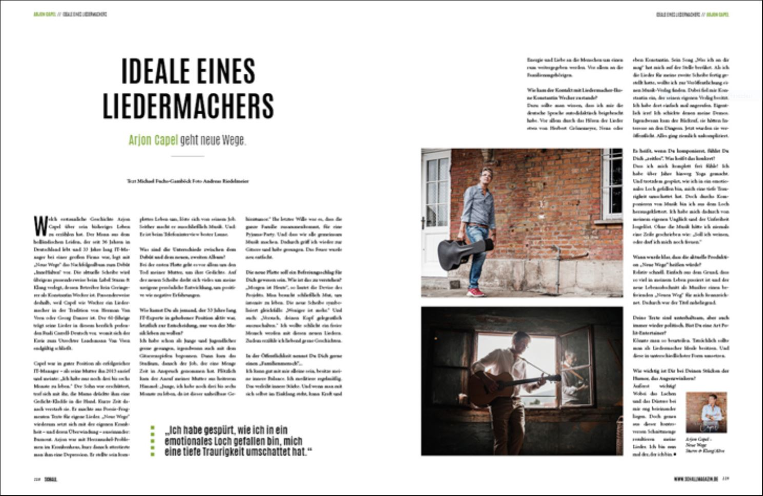SCHALL #23 - Interview mit Michael Fuchs-Gamböck