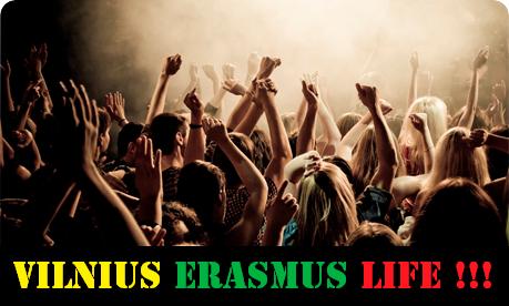 Vilnius erasmus life