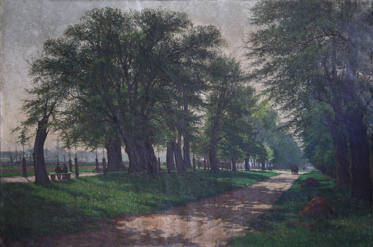 Richard von Hagn, Dresden, Ostragehege