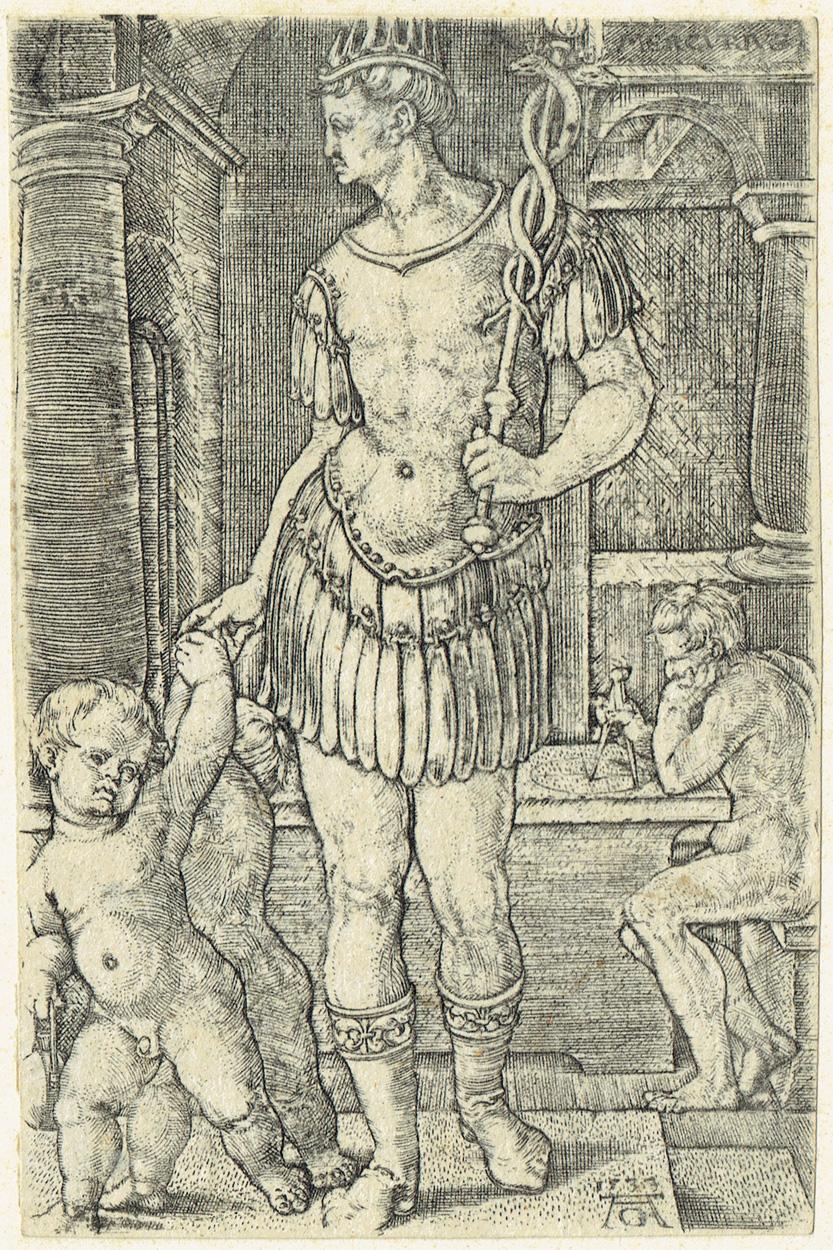 Heinrich Aldegrever, Merkur