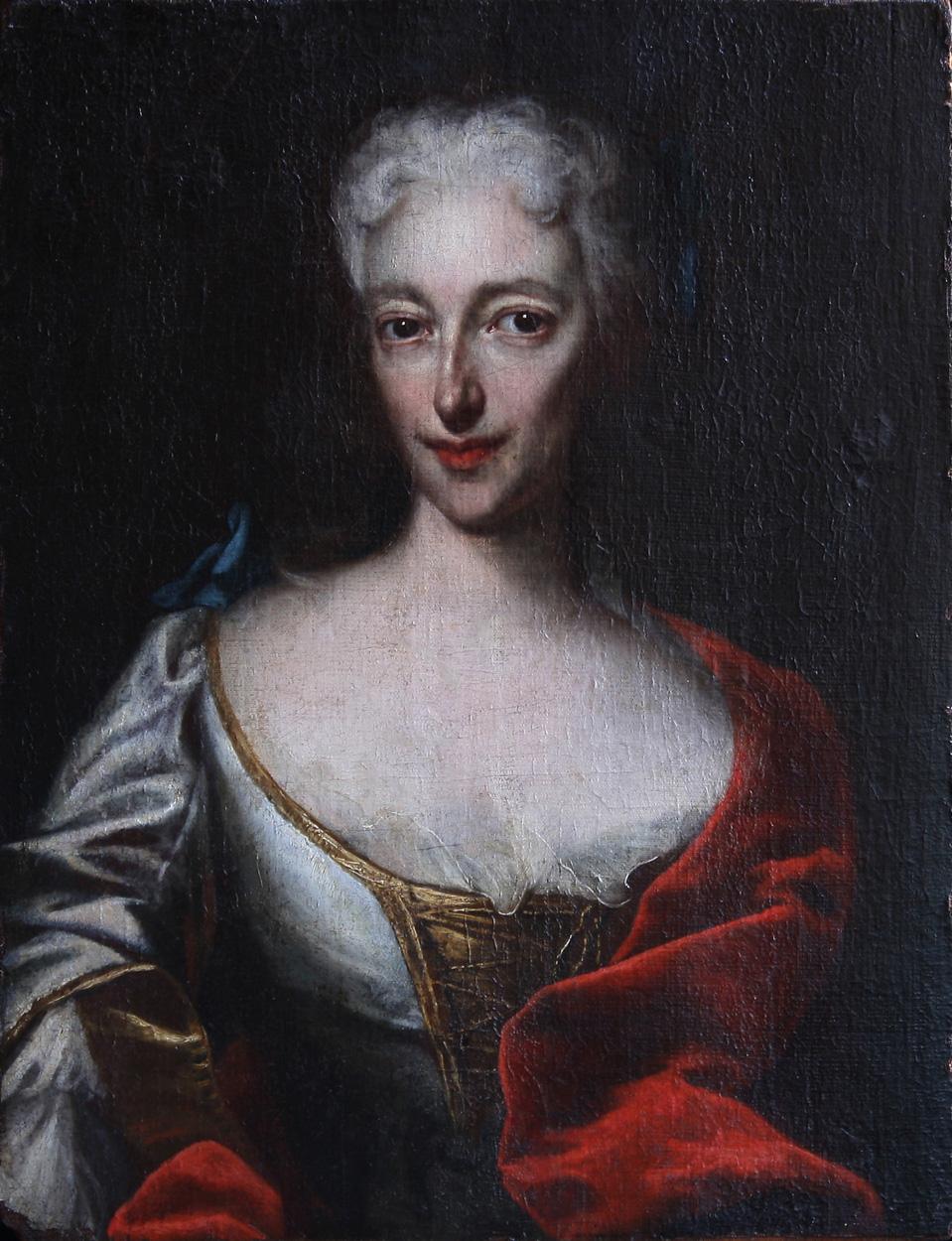 Bildnis einer adligen Dame, um 1750