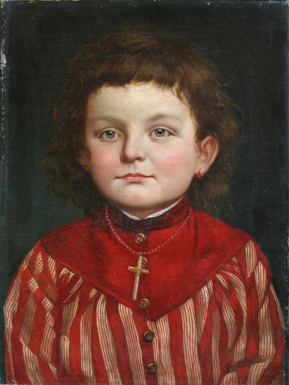 Ludwig Sturm, Bildnis der Gertrud Bergmann aus Dresden