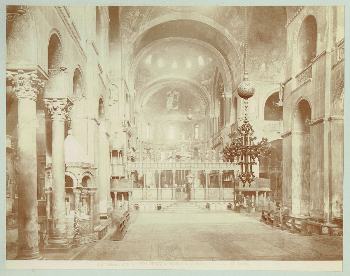 Fratelli Alinari, Venezia, Venedig, Basilica S. Marco