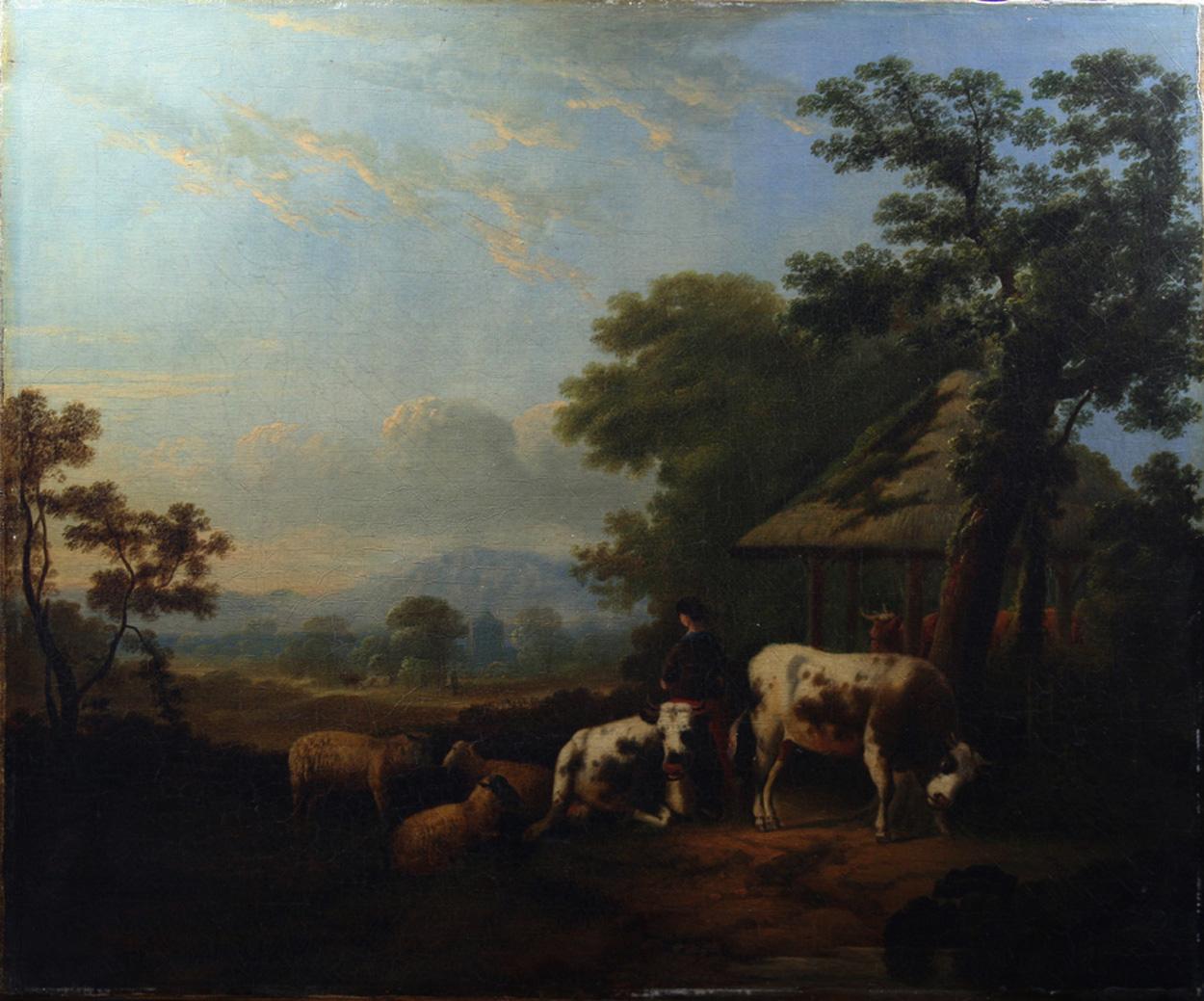 Arkadische Landschaft, 2. H. 18. Jh.
