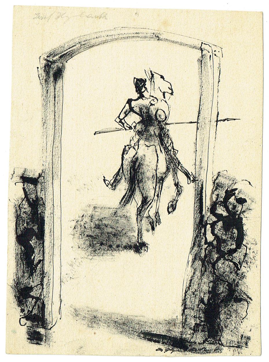 Josef Hegenbarth, Don Quijote