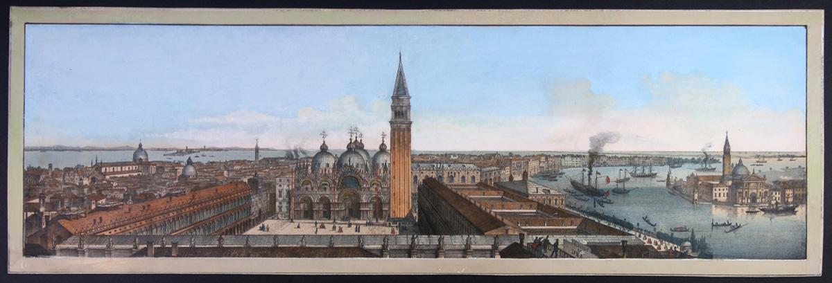 Panorama von Venedig